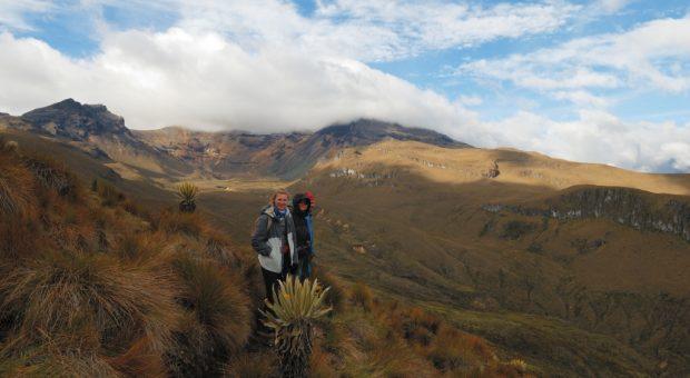 Sendero en Colombia