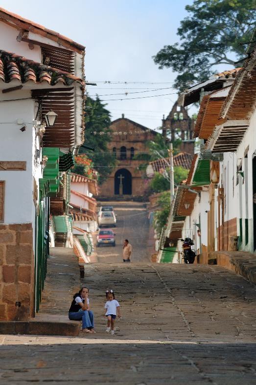 Zwischen Gegenwart und Vergangenheit – Koloniale Dörfer und San Vicente del Chucurí